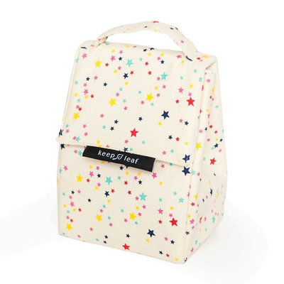 Borsa isotermica Lunch Bag Stars in cotone biologico