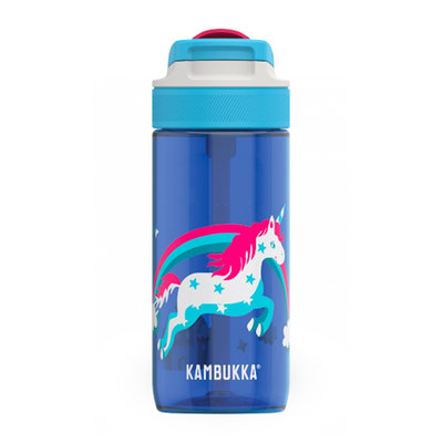Borraccia unicorno arcobaleno Lagoon Rainbow Unicorn 500 ml di tritan senza BPA anti-perdita