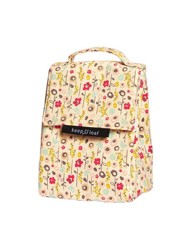 Borsa isotermica Lunch Bag Bloom in cotone biologico