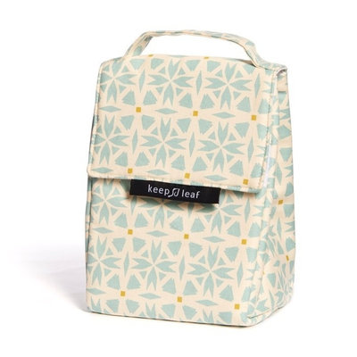 Borsa isotermica Lunch Bag Geo in cotone biologico