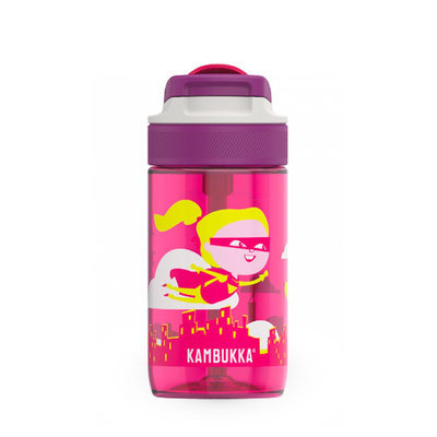 Borraccia Lagoon Flying Supergirl da 400 ml tritan senza BPA e anti perdita