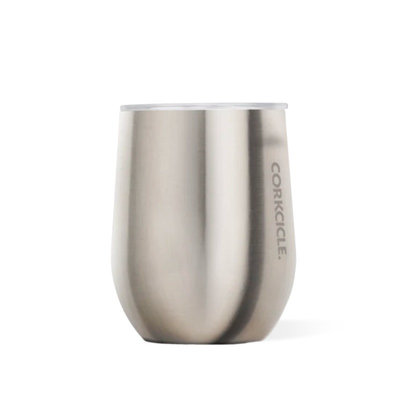 Verre nomade isotherme Brushed Steel inox 350 ml
