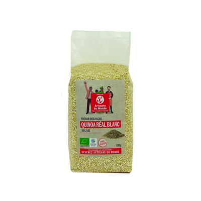 Quinoa real bianca biologica 500 g