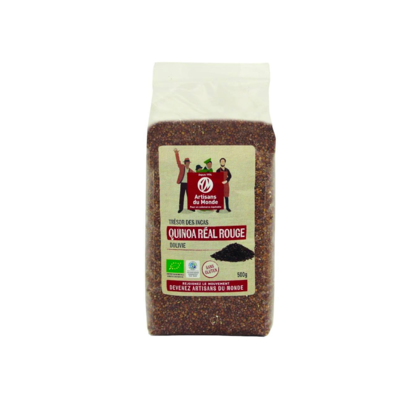 Quinoa real rossa biologica e solidale 500